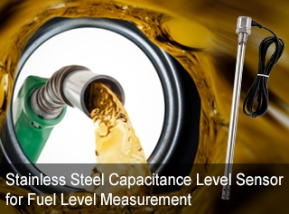 Stainless Steel Capacitance Level Sensor for Fuel Level Measurement