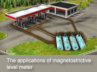 The applications of magnetostrictive level meter