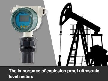 Explosion proof ultrasonic level meters used in fuel treatment