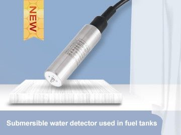 Submersible water detector used in fuel tanks