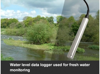 Water level data logger used for fresh water monitoring
