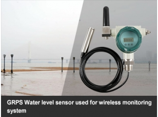 GRPS Water level sensor used for wireless monitoring system