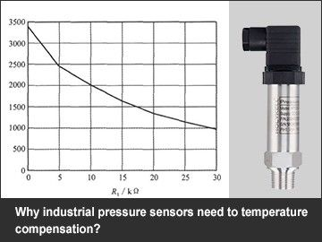 Why industrial pressure sensors need to temperature compensation?