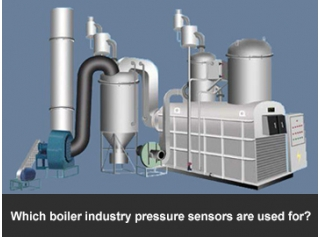 Which boiler industry pressure sensors are used for?