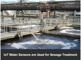 IoT Water Sensors are Used for Sewage Treatment