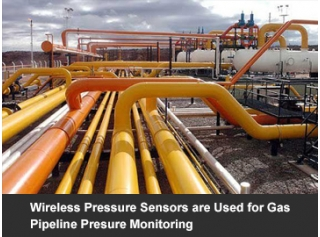 Wireless Pressure Sensors are Used for Gas Pipeline