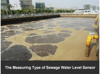 The Measuring Type of Sewage Water Level Sensor